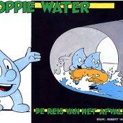 Voorkant van stripboekje Droppie Water 1: De reis van het afvalwater