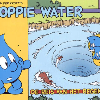 Voorkant van stripboekje Droppie Water 2: De reis van het regenwater