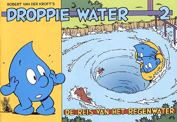 Droppie Water De reis van het regenwater