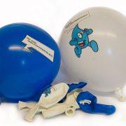 Ballonnen Droppie Water