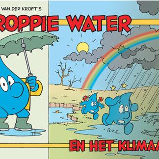 Voorkant van stripboekje Droppie Water 5: Droppie Water en het klimaat